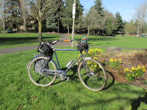 Springtime in Woodlawn Park by urbanadventureleaguepdx