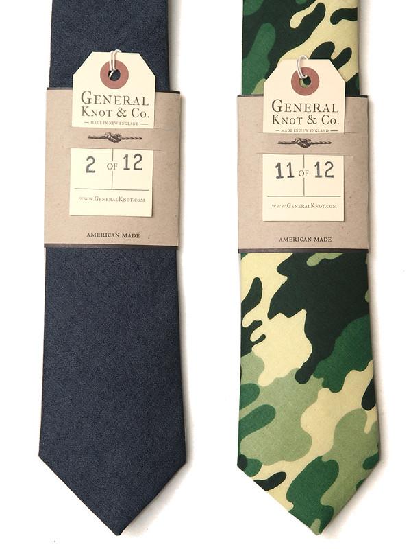 General Knot & Co. / #963 , #964 Necktie