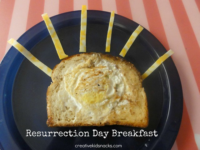 Resurrection Day Easter Breakfast for kids