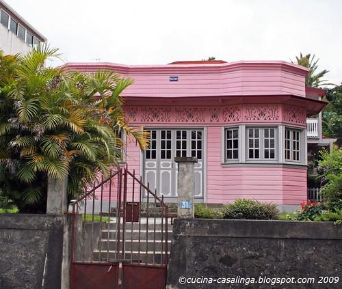 Rosa Haus in Cilaos