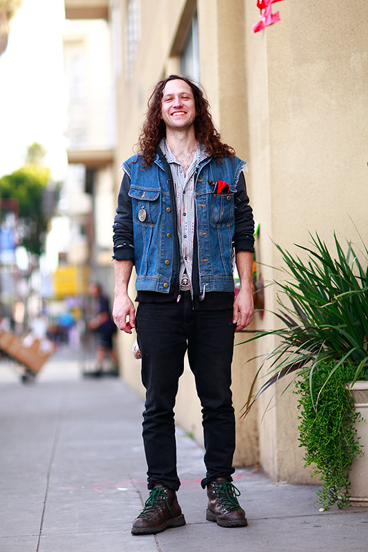 brandon_mish street style, San Francisco, Quick Shots, Mission Street, men, street fashion