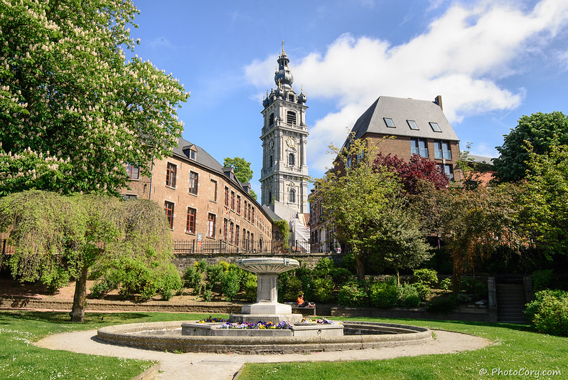 The Belfry Tower in Mons