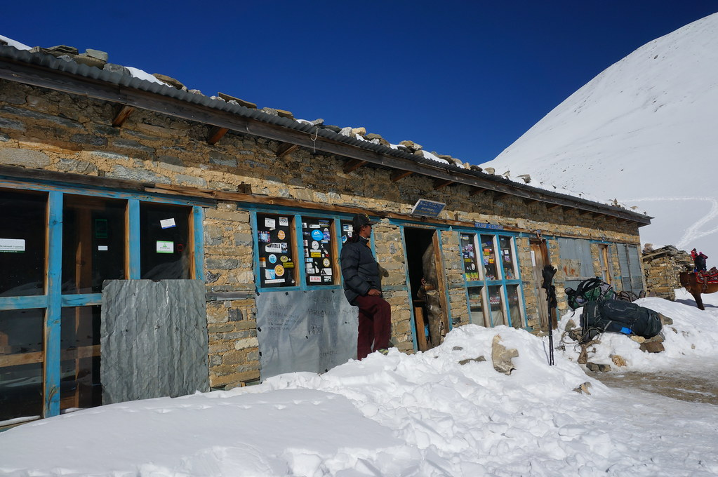 Tea Shop before the Thorong La Pass
