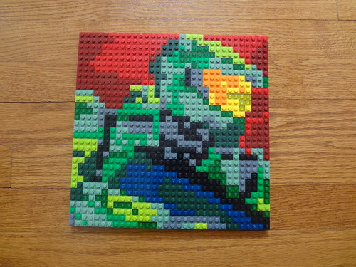 Lego Halo Master Chief Mosaic Expansion