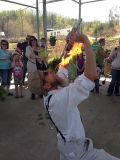 Fire eating Painters 2014