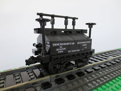 Pennsylvania Railroad Test Weight Car #490398