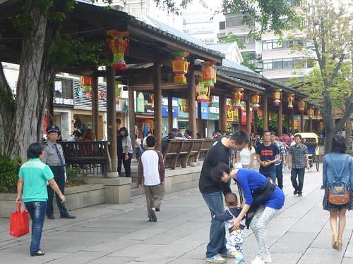 Fujian-Fuzhou-Rue pietonne (27)