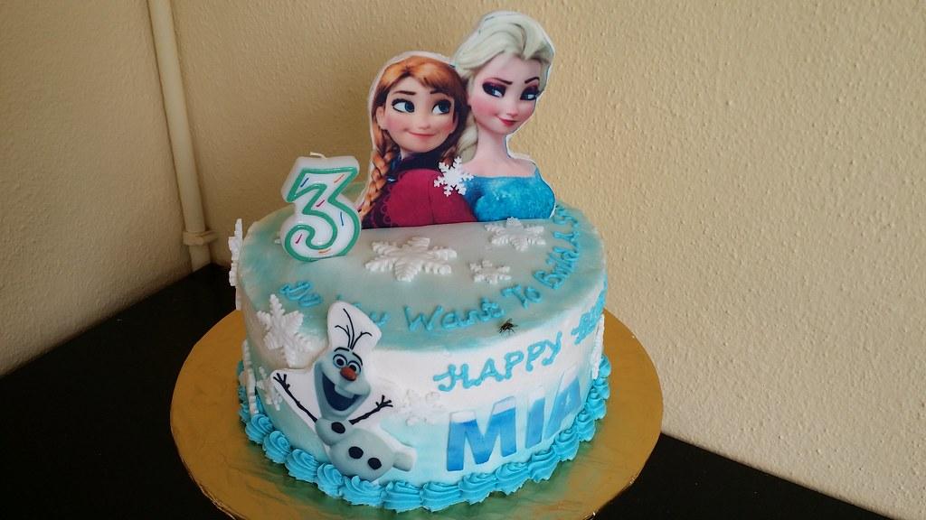 Frozen Birthday Cake Malaysia