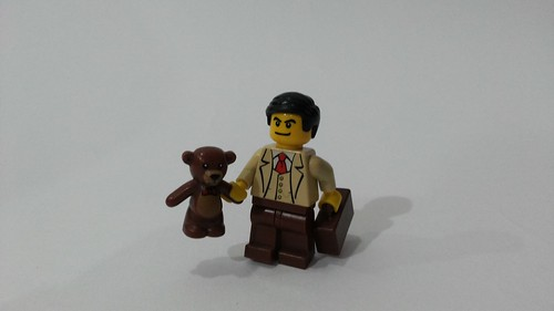 Lego MOC Minifigure: Mr. Bean