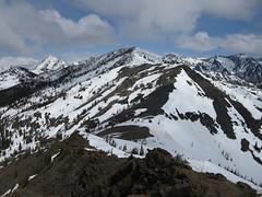 Navaho Peak in the distance