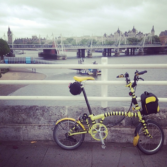 The Thames Bridges Bike Ride 2014
