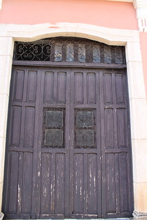 Valladolid door facing square