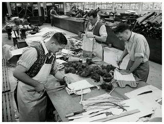 J Wiseman and Sons - Cricket Pads Factory - 1947