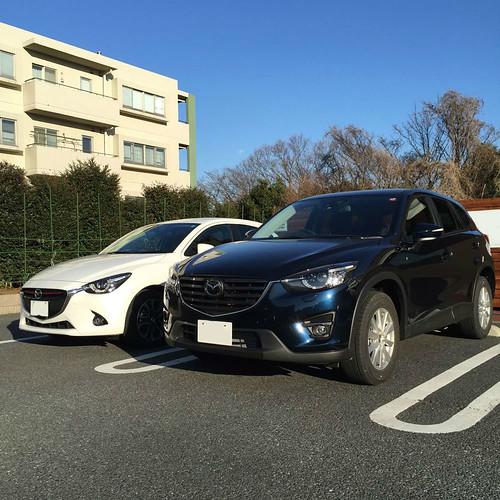 Mazda 2 and CX-5