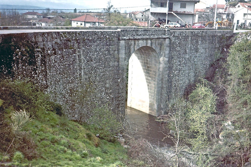 Arco's roman bridge, Sao Lourenco