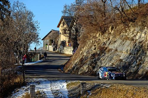 Sebastien Ogier  Rally Monte Carlo 2015