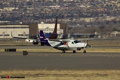 N882FE - 208B0208 - FedEx Feeder - Cessna 208B Grand Caravan - Albuquerque, New Mexico - 141229 - Steven Gray - IMG_1436