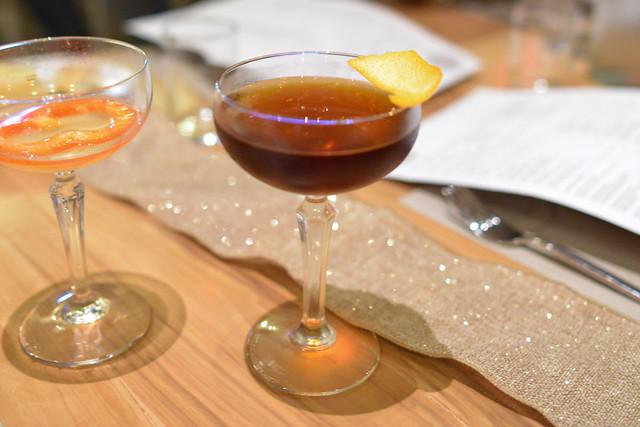 JIMMY CONWAY rye whiskey, rabarbaro zucca, amaro nonino, walnut bitters