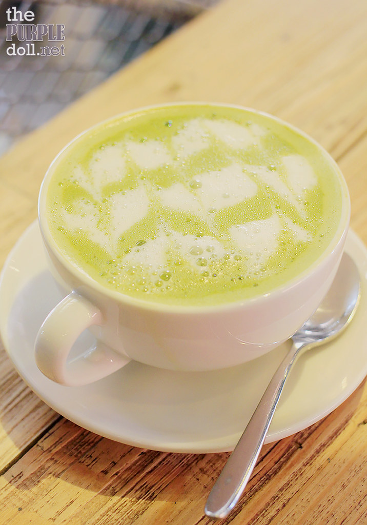 Hot Matcha Latte (P170)
