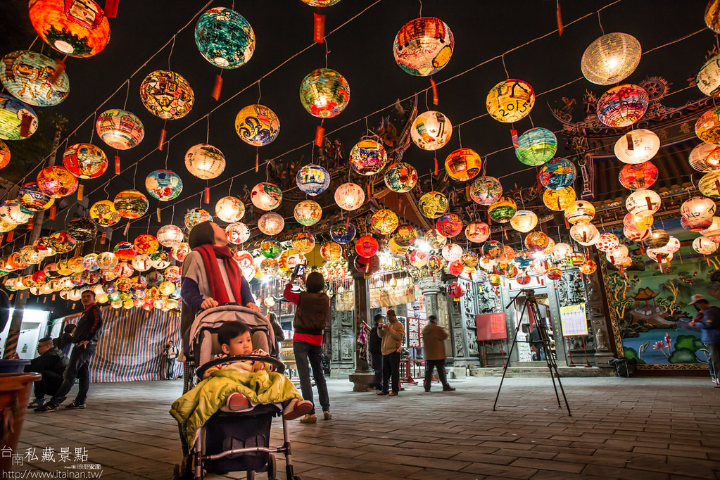 台南私藏景點-普濟殿燈會 (11)