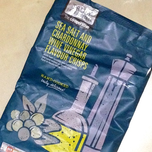 Truly Irresistible, The co-operative, Sea Salt and Chardonnay Wine Vinegar Flavour Crisps