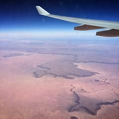 Flying over the Sahel #Africa #flight #sky #Sahel