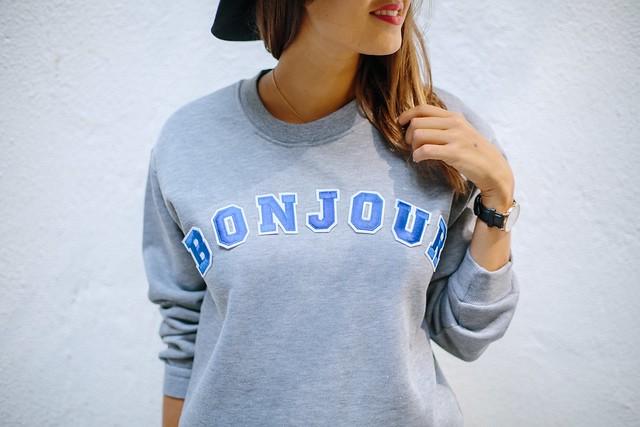 DIY Graphic Word Sweater