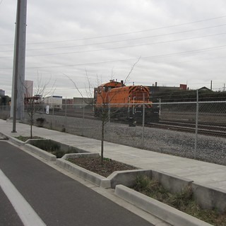 EPT 100 in the new East Portland yard