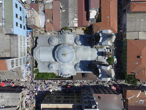 Panayia Evangelistria görög ortodox templom felülről