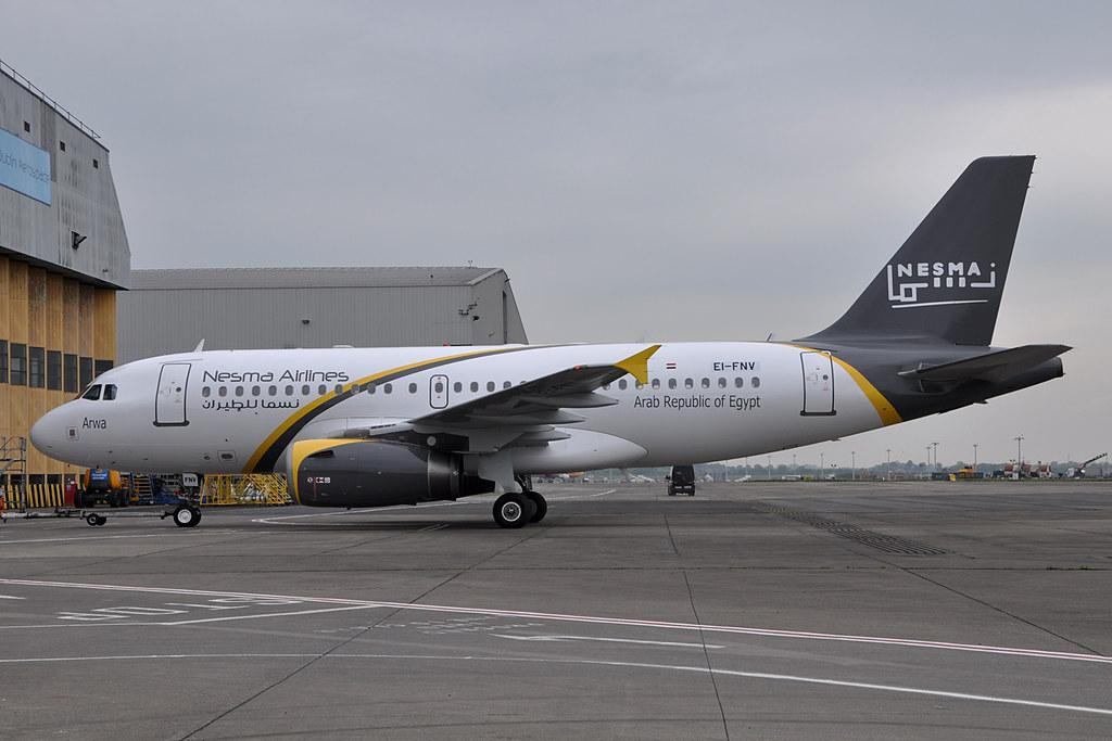 SU-NMD - A319 - Caucasus Airlines