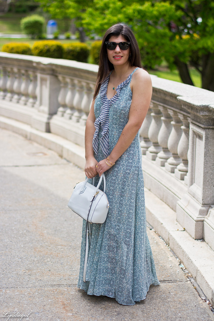 garden party maxi dress, white handbag-1.jpg