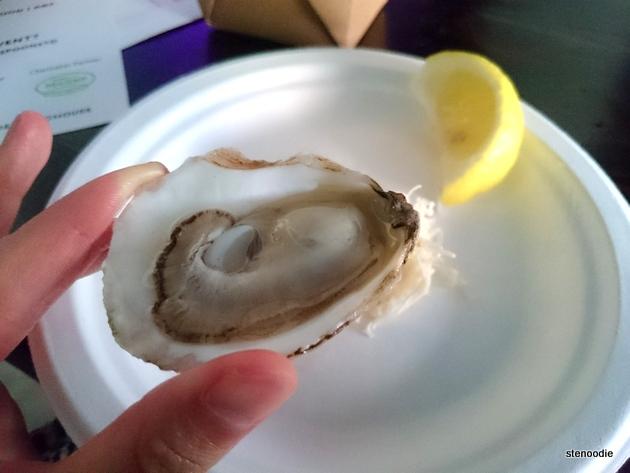 New Brunswick Beau Soleil oyster