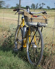 Bikes, baskets, bags, and barbed wire #oceanaircycles