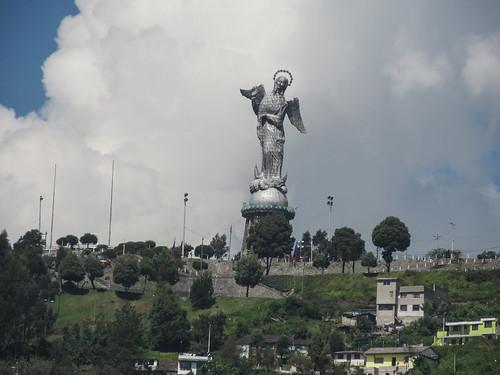 Quito: la Vierge ailée
