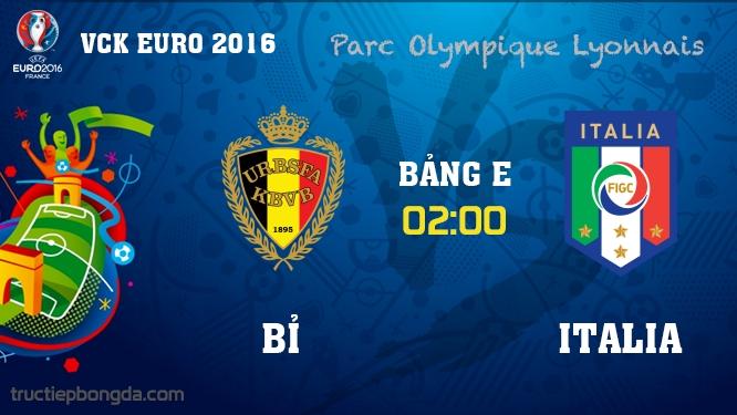 Bỉ vs Italia
