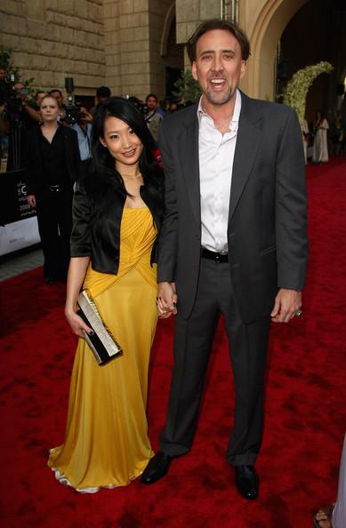 Фото Николаса Кейджа с женой