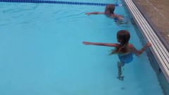 Swimming The Length Of The Pool