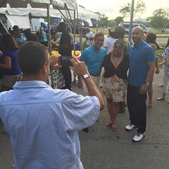 Great to see so many constituents tonight at #OrchardBeach #nysa2016 #bronx
