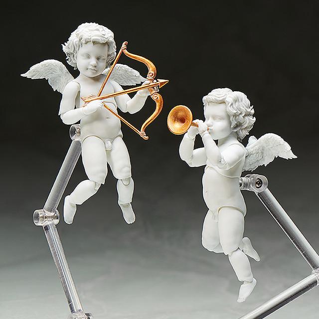 要來迎接我升天了嗎?!figma 「桌上的美術館」天使像