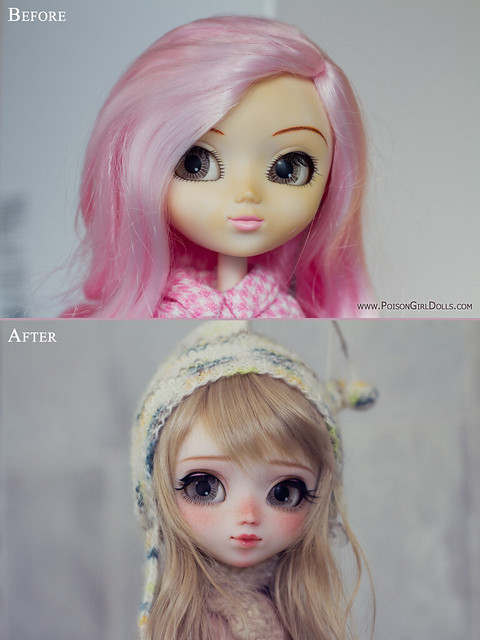Before & After - for Cori