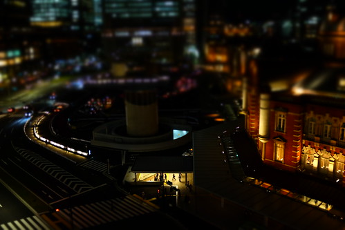 miniature mode Tokyo Station 02