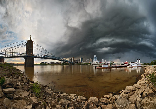 bridge ohio cloud storm canon river downtown cityscape ky cincinnati sigma 5d oh 1224mm mkii covington