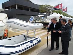 Una quarentena d'empreses han exposat embarcacions noves i d'ocasió i tot tipus de productes i serveis nàutics al festival.