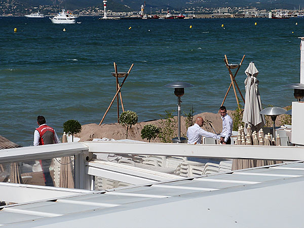 barrage contre la méditerranée