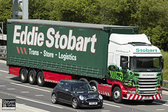 Scania R440 6x2 Tractor - PN11 WPL - Johannah Elizabeth - Eddie Stobart - M1 J10 Luton - Steven Gray - IMG_9640