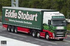 Volvo FH 6x2 Tractor - PX11 BWU - Louisa - Eddie Stobart - M1 J10 Luton - Steven Gray - IMG_8945
