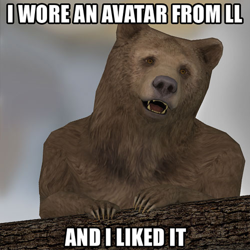 SL Confession Bear | My entry for the Second Life SL10B ...