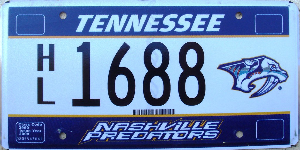 Unusual Tennessee License Plates Ideas - Classic Cars Ideas - boiq ...