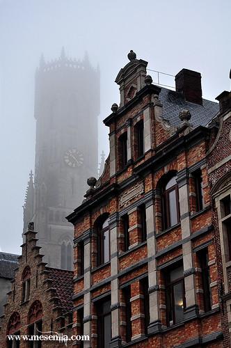 Torre de Hallen a Brugges
