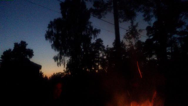 La luz de la media noche en Suecia